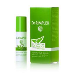 Dr. Rimpler CUTANOVA ORGANICS Herbal Time Serum - bio gyógynövényes regeneréló szérum 15 ml