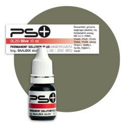 Permanent Solution Plus - OLIVE 10 ml