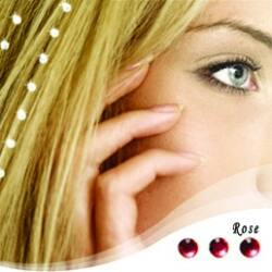 """Baalbek hajékszer """"rose"""" színben"""