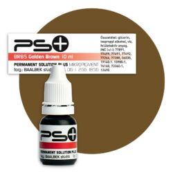 Permanent Solution Plus - GOLDEN BROWN 10 ml