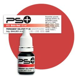 Permanent Solution Plus - BRICK RED 10 ml