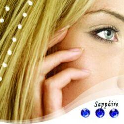 """Baalbek hajékszer """"sapphire"""" színben"""