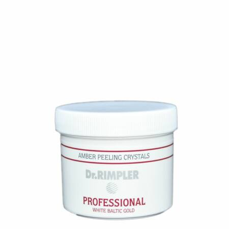 Dr. Rimpler PROFESSIONAL WHITE BALTIC GOLD Amber Peeling Crystals - borostyánkristályos peeling 38 gr