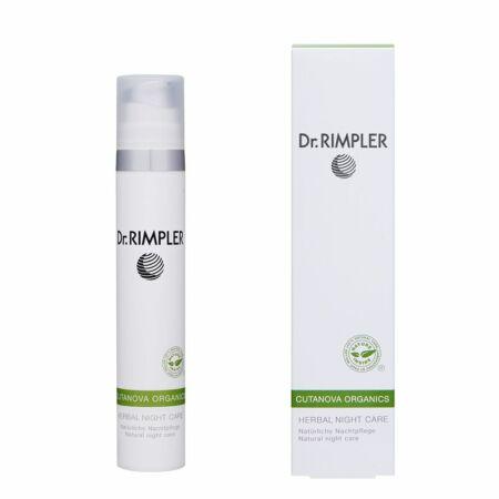 Dr. Rimpler CUTANOVA ORGANICS Herbal Night Care - bio gyógynövényes éjszakai krém 50 ml