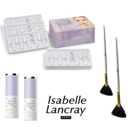 Isabelle Lancray  Vitamina C - C vitaminos komplett szett (4 kezelés) legyezőecsetekkel