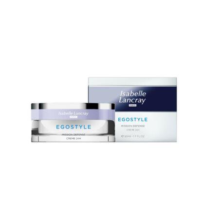 Isabelle Lancray EGOSTYLE Defense Creme 24H - 24 órás bőrvédő krém hyaluronsavval 50 ml