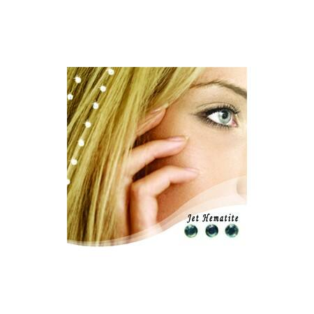 """Baalbek hajékszer """"jet hematite"""" színben"""