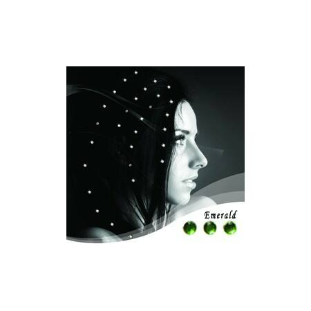 """Baalbek hajékszer """"emerald"""" színben"""