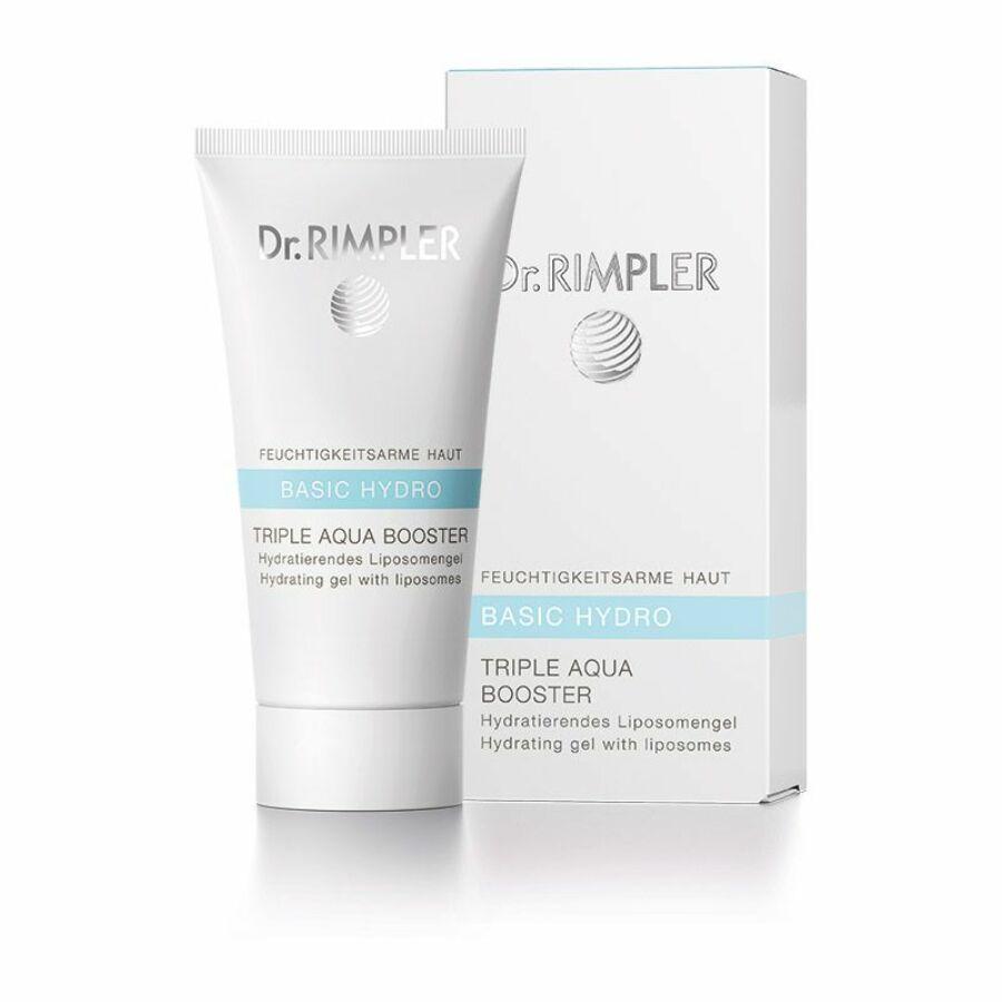 Dr. Rimpler BASIC HYDRO Triple Aqua Booster - nedvességpótló gél 50 ml