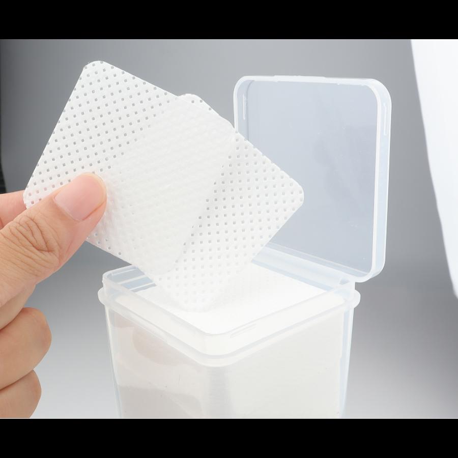 Eszköztisztító párnácska szöszmentes 1 doboz (200 db)