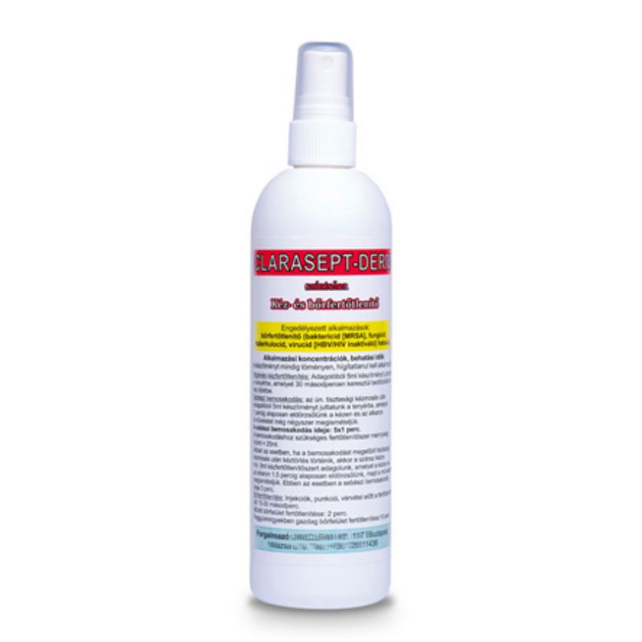 CLARASEPT-DERM színtelen kéz- és bőrfertőtlenítő szer 250 ml
