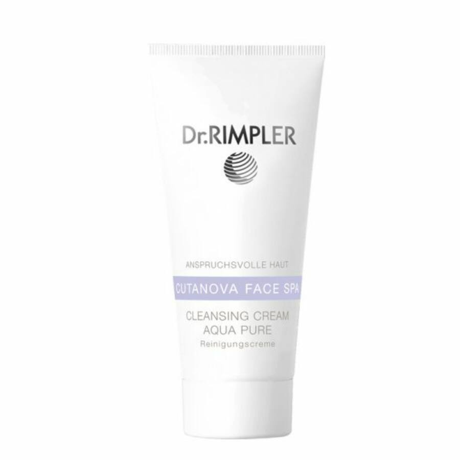 Dr. Rimpler CUTANOVA FACE SPA Cleansing Cream Aqua Pure - habzó tisztító krém 100 ml