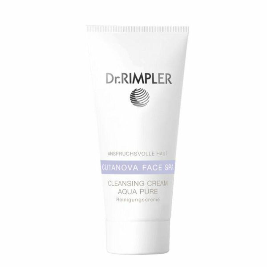 Dr. Rimpler CUTANOVA FACE SPA Cleansing Cream Aqua Pure - habzó tisztító krém 200 ml