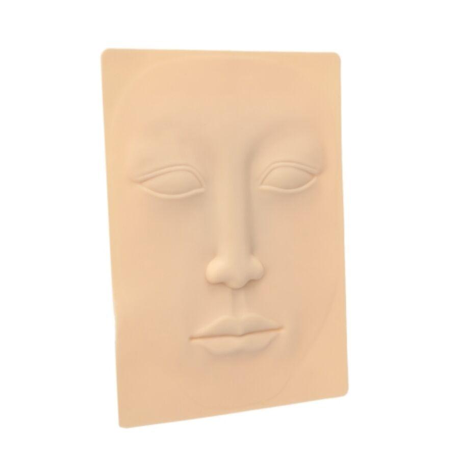 Gyakorló műanyag arc - 1 db