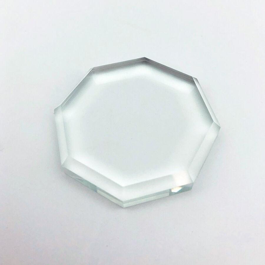 Üveg ragasztótartó kristály