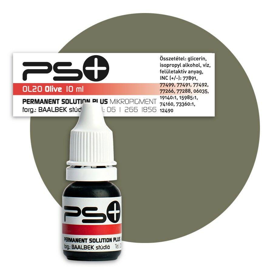 ÚJ! Permanent Solution Plus - OLIVE 10 ml