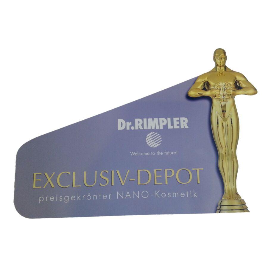 Dr. Rimpler Oscar-szobros ablakmatrica