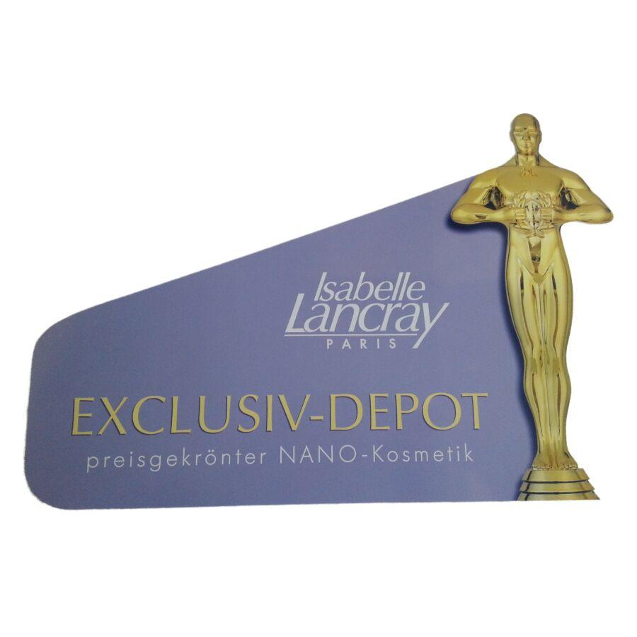 Isabelle Lancray Oscra-díjas öntapadós ablakmatrica