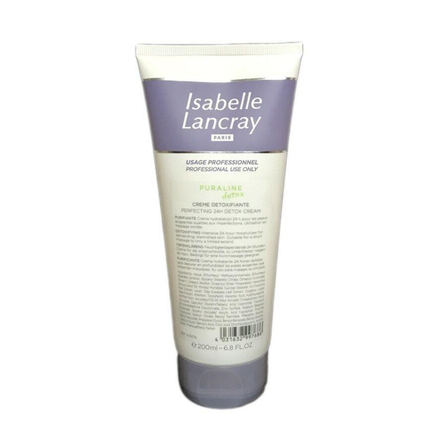 Isabelle Lancray PURALINE DETOX Creme Detoxifiante - 24 órás méregtelenítõ krém fényvédõvel 200 ml