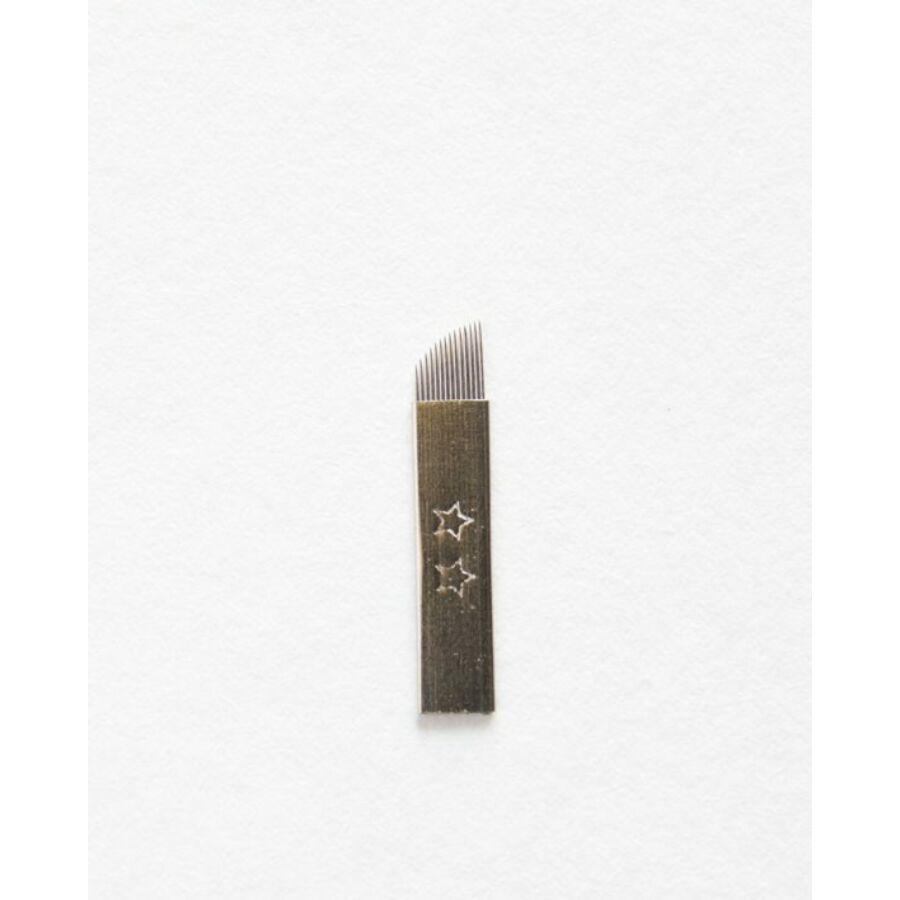 Microblading tű 14 curve (5 db)