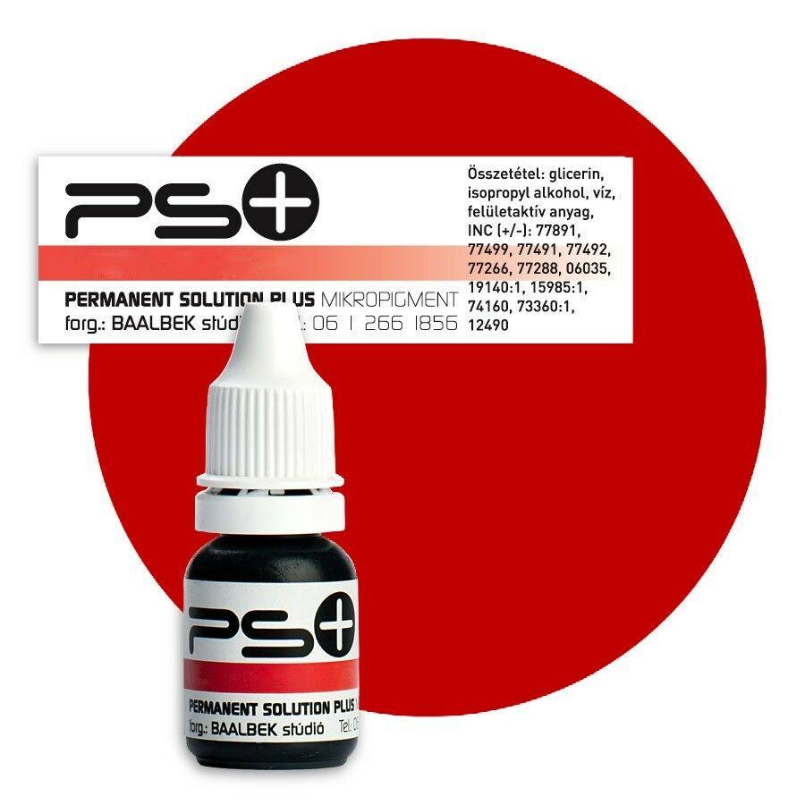 ÚJ! Permanent Solution Plus - AUTUMN RED 10 ml