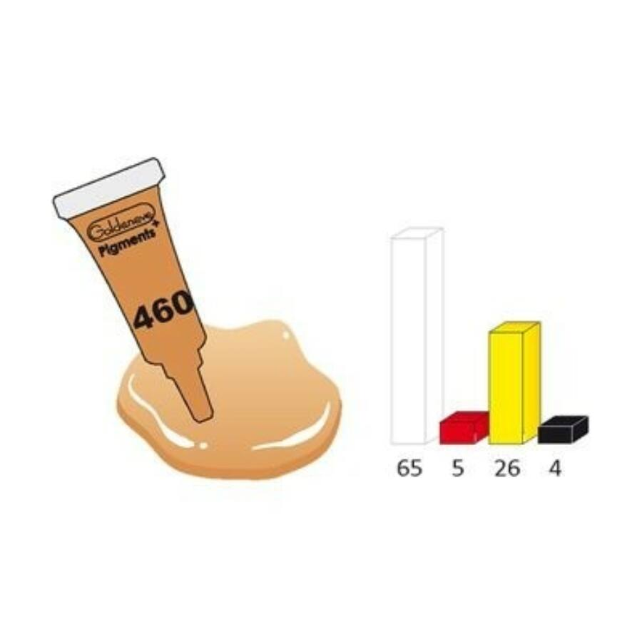 Goldeneye sminktetováló pigment - Light Oriental 3 ml
