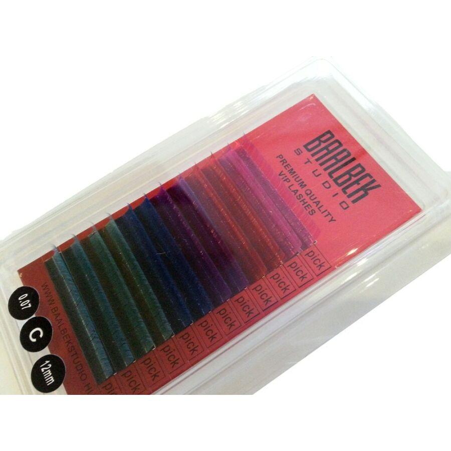 VIP prémium 0,07 x 12 mm vegyes színes, 12 soros, C ív