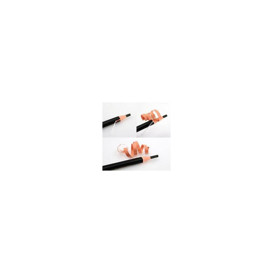 Felrajzoló ceruza lapos hegyű, fekete