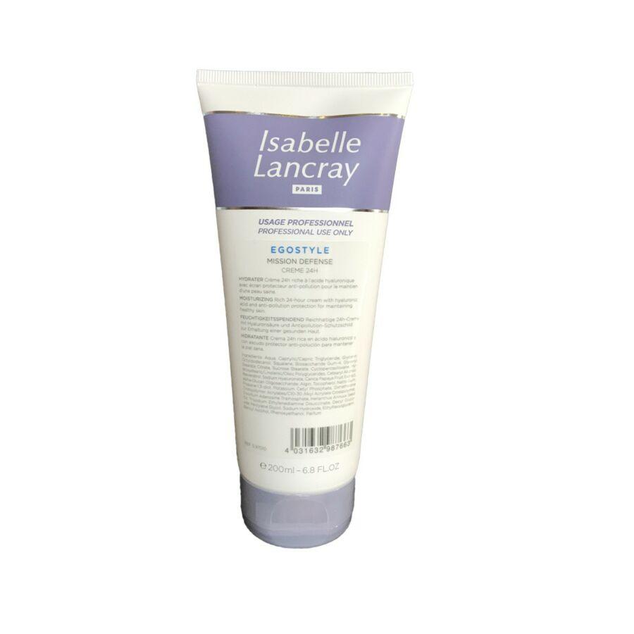 Isabelle Lancray EGOSTYLE Defense Creme 24H - 24 órás bőrvédő krém hyaluronsavval 200ml