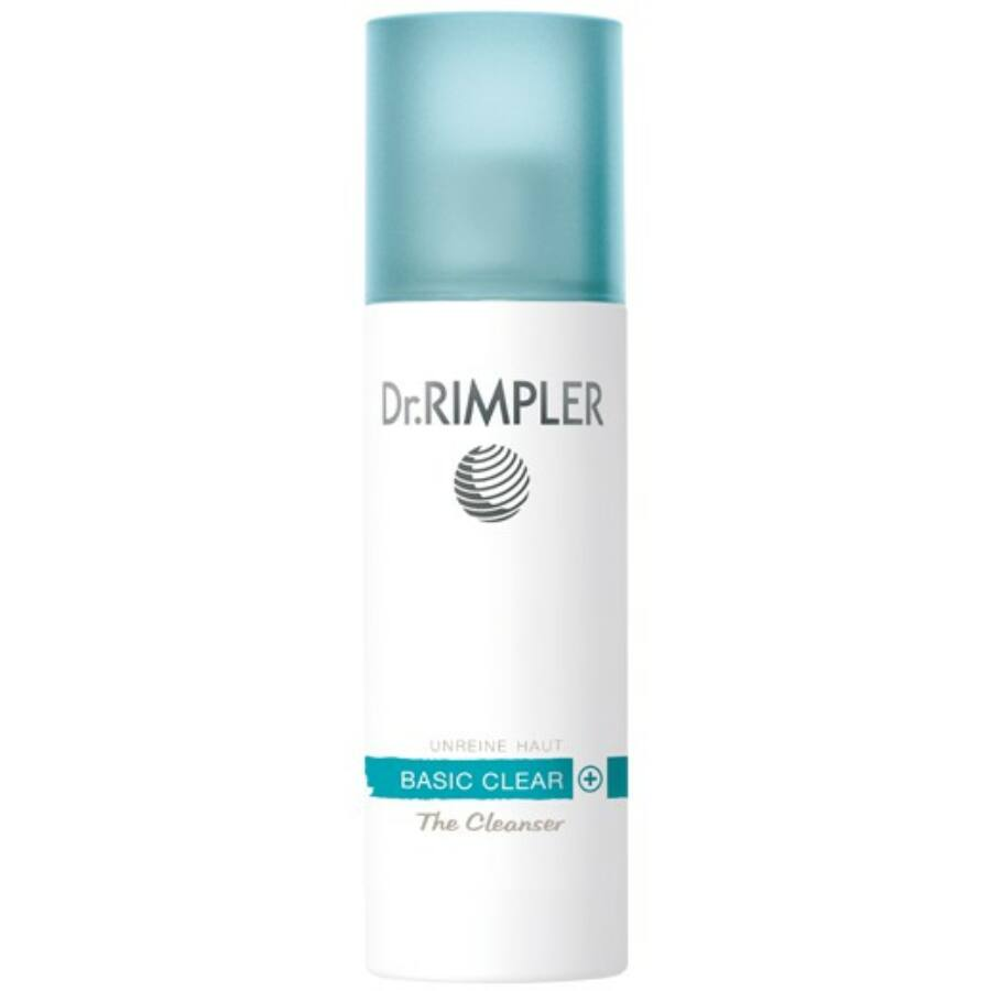 Dr. Rimpler BASIC CLEAR + THE CLEANSER- habzó, tisztító gél 200 ml