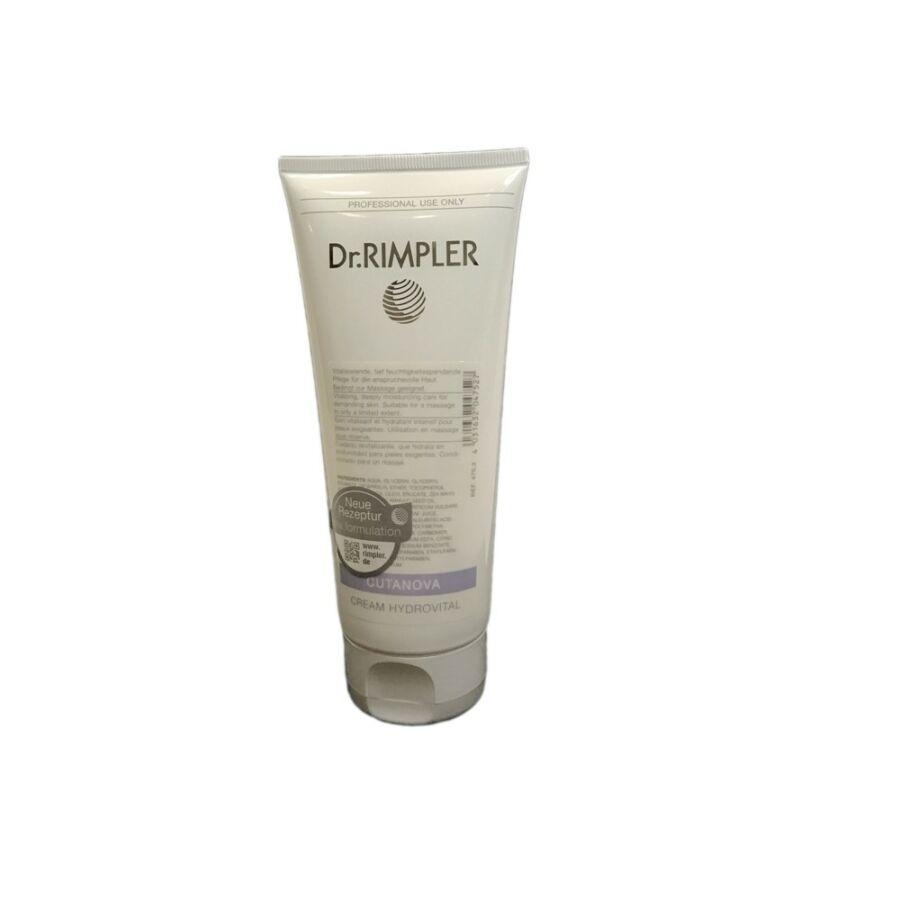Dr. Rimpler CUTANOVA Cream Hydrovital - nedvességpótló krém 200 ml