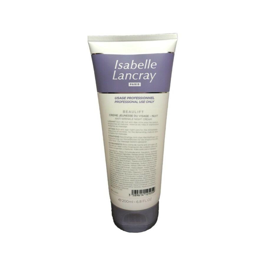 Isabelle Lancray BEAULIFT Night Cream - botox hatású éjszakai krém 200 ml
