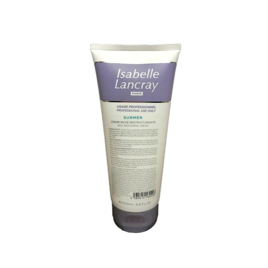 Isabelle Lancray SURMER Rich Restoring Cream - restrukturáló krém 200 ml
