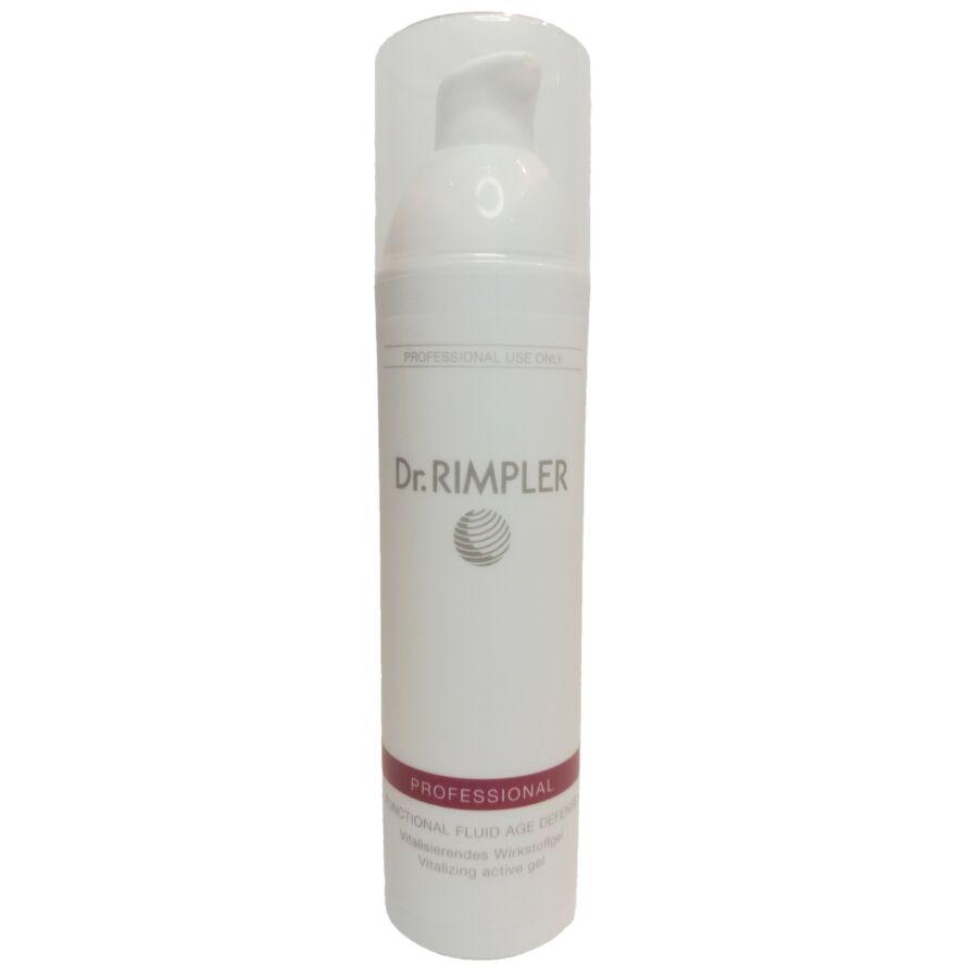 "Dr. Rimpler PROFESSIONAL Functional Fluid ""Age Defense"" - vitalizáló aktív gél 150 ml"